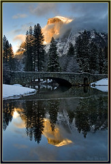 Haunting (Thi) Tags: bridge winter valley yosemite yosemitevalley stonemanbridge yosemitewinter