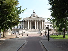 University College London, by William Wilkins (stevecadman) Tags: uk england london stone architecture university unitedkingdom britain 19thcentury architect ucl bloomsbury dome classical wilkins academic neoclassical portico universitycollege nineteenthcentury universitycollegelondon c19 williamwilkins