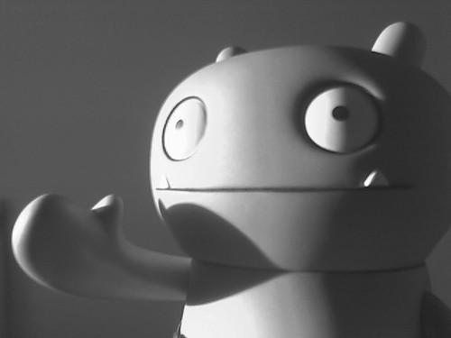Mascot in Gray