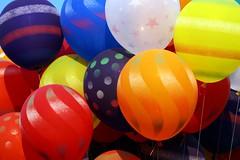 Balloons make you Happy (Creativity+ Timothy K Hamilton) Tags: blue red orange white color yellow balloons happy 500v20f purple balloon brightcolors