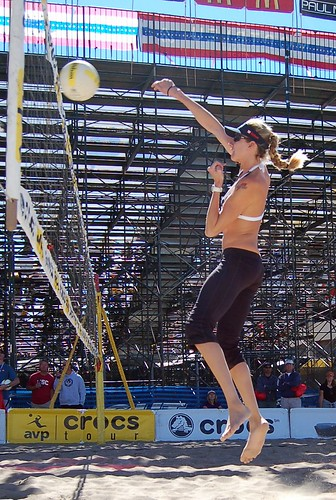 Kerri Walsh #8 by TriLauraTri. From TriLauraTri