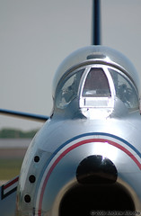 F86 waits (Bosta) Tags: plane airshow f86 andrewsairforcebase jointserviceopenhouse