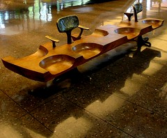 bench (Remiss63) Tags: wood copyright architecture modern bench design photographer furniture interior modernism july 2006 photograph 1950s deere allrightsreserved johndeere modernist midcenturymodern midcentury raimist andrewraimist remiss63 july2006