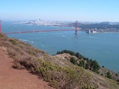 The City and the Golden Gate (Aaron Gilbert) Tags: goldengatebridge marinheadlands rodeobeach