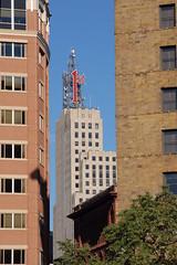 First Bank Skyscraper, St. Paul, Minnesota (bmw328driver) Tags: windows usa minnesota sign skyscraper downtown neon stpaul bank mn 1stbankbuilding