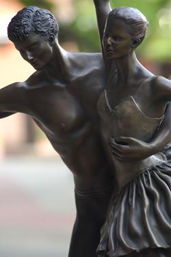 """""""Pas de deux,"""" Shari Hamilton, Westhope, ND, Sioux Falls Sculpture Walk"""