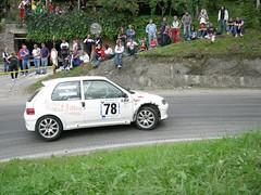 Peugeot 106 Rally (ul_Marga) Tags: italy cars italia rally clio renault 78 peugeot valli macchine calice ossola tornante trontano ulmarga