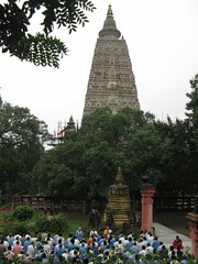 Mahabodhi Temple   puja