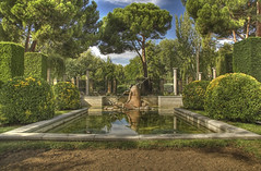 los jardines de cecilio rodriguez (HDR) (R.Duran) Tags: madrid park parque espaa gardens spain nikon espanha europa europe d70s 100v10f retiro es