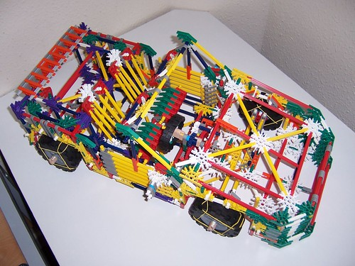 Blueprints of K'NEX Cars