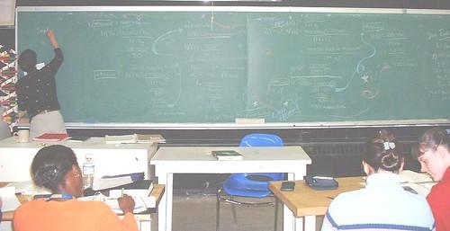 oscchalk1 (chicgeekuk) Tags: toronto ontario laura art chalk class highschool problem math calculus chalkboard kishimoto osc ontariosciencecentre oscsc laurakishimoto laurakishimotoca