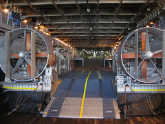 LCAC in the Well Deck (Telstar Logistics) Tags: sanfrancisco propeller fleetweek hovercraft lcac lhd6 fleetweek2006 ussbonhommerichard