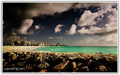 South Beach From the Pier (Michael Pancier Photography) Tags: florida miami miamibeach southbeach fineartphotography naturephotography seor naturephotographer floridaphotographer pancier michaelpancier michaelpancierphotography wwwmichaelpancierphotographycom seorcohiba