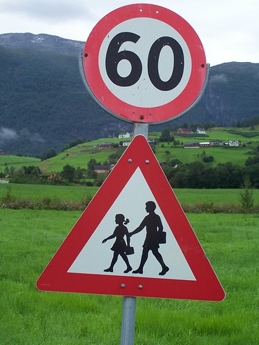 Top Norwegian Road Signs, number 3