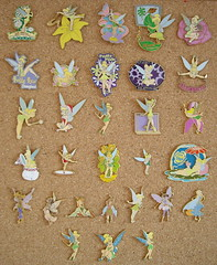 My Tinker Bell pins (isazappy) Tags: pin tinkerbell disney isabelle disneypin isazappy tradding