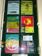 reggae (amsterdam) (li on stage) Tags: street music art amsterdam graffiti stencil tags spray jungle reggae ragga