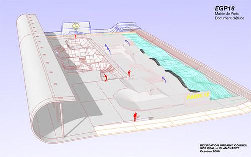 Futur Skatepark de la ville de PARIS