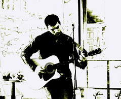 Oli Robbins (Northern Country Boy) Tags: music d50 manchester weird live livemusic solo acoustic manchestermusic manchesterbands