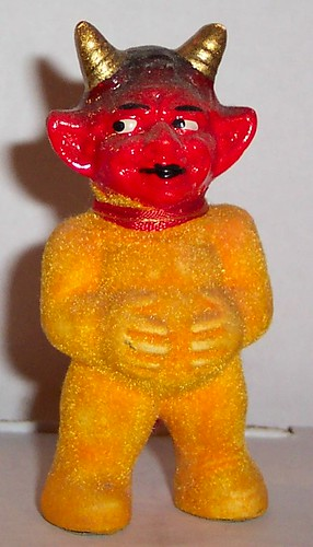 Vintage Halloween Devil Figure