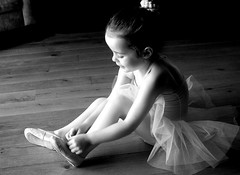 11.c Lily ballet 037 b&W (debbie0906) Tags: ballet girl kids canon children sitting child lily canon350
