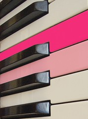 Two are different (horstgeorg) Tags: life pink music reflection art colors keys piano harmony keybord musik artlibre