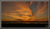 Warm wishes... (WanaM3) Tags: wanam3 sony a700 sonya700 texas houston outdoors elfrancoleepark park vista landscape redsky clouds reflection dusk twiligth evening sky sunset