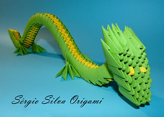 Origami 3D Dragão (SérgioGSilva Photography) Tags: origami origami3d origamis 3dorigami paper art paperart papercraft origamiart 3d dragon sergiosilvaorigami