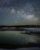 Lyrid Meteor Reflection (Jeffrey Sullivan) Tags: nevlyrid meteor shower night stars milky way reflection sierranevada california usa nature landscape photo copyright 2018 jeff sullivan allrightsreserved april lyrid