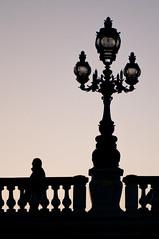 Paris (Yann OG) Tags: paris parisian parisien france french français pont bridge alexandre3 alexandreiii silhouette sunset coucherdesoleil cityscape pentacon135mm m42 crépuscule
