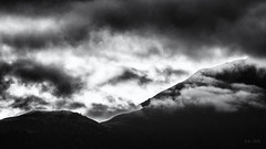 Before Sunrise... (Ody on the mount) Tags: alpen anlässe berge em5 fiss licht mzuiko75300 morgenlicht omd urlaub wolken bw clouds monochrome mountains sw österreich tirol at