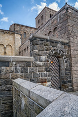 Prince of Persia (writing with light 2422 (Not Pro)) Tags: thecloisters newyork nyc brick wall gate iron lines vertical geometry textures richborder sonya7