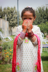 Eid day (iamadnan) Tags: kids cute cutness outdoor portrait hena bangles girl eid pakistan