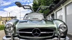 Mercedes Benz 300SL Gullwing (swissclassiccar) Tags: 300sl gullwing mercedesbenz flügeltürer w198 sportscar germancar classiccar icon caricon sportwagen klassiker legende legend supercar dreamcar mercedes benz hypercar