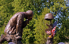 Remember The Fallen (Bill G Moore) Tags: military statue flags 4thofjuly respect honor usa america