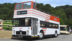 Preserved Ribble OCK 995K 1995 (WY Bus Spotter) Tags: preserved ribble ock995k 1995 west yorkshire bus spotter wybs x16 skipton bristol vr saltaire day running venetian blind red white kbmt keighley museum trust