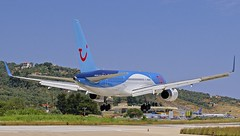 JSI/LGSK: TUI (ThomsonAirlines)  Boeing B757-28A G-OOBA (Roland C.) Tags: jsi lgsk airport skiathos greece tui thomson thomsonairlines boeing b757 b752 b757200 gooba airliner aircraft aviation airplane