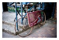 Rag Parade (fishyfish_arcade) Tags: 20mmf17 gx7 lumix panasonic panasonic20mmf17asphlumixg bicycle