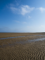 Norfolk Coast 2018 (jonathan.bennett2) Tags: norfolk east anglia united kingdom countryside landscape beach coast coastline ripples sun sunshine blue sky cloud clouds low tide tidal hunstanton olympus em5 mark 2 ii zuiko 1240 1240mm