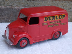 "Vintage Dinky Toys Red Trojan 15 Cwt Panel Van Dunlop "" The World's Master Tyre "" (beetle2001cybergreen) Tags: vintage dinky toys red trojan 15 cwt panel van dunlop theworldsmastertyre"