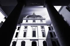 Grand Hôtel-Dieu (Stéphane Sélo Photographies) Tags: architecture architectureetbatiments france grandhôteldieu lyon pentax pentaxk3ii rhône sigma1020f456 blending creative fenêtre perspective photographie window