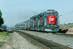 SP 8038 East at Arena, CA (thechief500) Tags: railroads sp sanjoaquinvalley