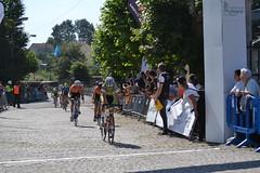 El ciclista ermuarra, con la selección de Euskadi.