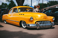 Buick Roadmaster (Garret Voight) Tags: car vehicle automobile automotive old retro vintage classic antique american muscle chrome show custom modified lowered stance street hot rod 1940s 1950s 1960s mn minnesota outdoors buick roadmaster backtothe50s backtothefifties
