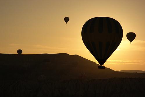 Balloon sunrise III