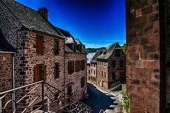 Saint Cyprien sur Dourdou (Terre d'Aveyron) Tags: saint cyprien sur dourdou pierre maison rue aveyron france photo