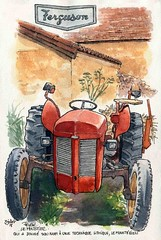 Peyzac le Moustier, (Cat Gout) Tags: dordogne périgord peyzaclemoustier tracteur village eu
