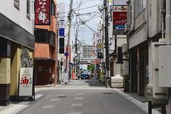 山形車站 (briandodotseng59) Tags: asia east japan street corner color coth5 train station nikkor nikon 35mm light shadow road black white