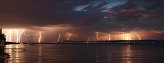 lightning barrage over Lake Balaton (Gábor Timár) Tags: lightning lakebalaton thunderstorm stackedimage timelapse thunder rayo foudre folgore blitz relámpago