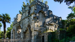 Nîmes - Jardins de la Fontaine (Françoise et Gérard) Tags: nîmes jardinsdelafontaine tourmagne diane antoinebigot nymphée fontaine cygne