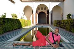 Málaga, Abdo in de Alcazaba, Spanje Andalusië 2018 (wally nelemans) Tags: málaga alcazaba vijver pond abdo spanje spain españa andalucia andalusia andalusië 2018